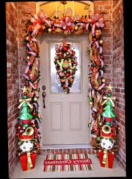 christmas front door porch decorations ellecrafts