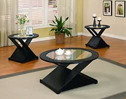 Table Set For Living Room Coaster Home Furnishings 701501 3 Contemporary