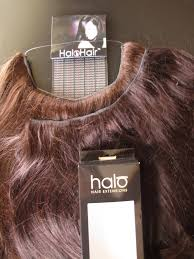 Tap In Hair Extensions by A Model U0027s Secrets Halo Hair