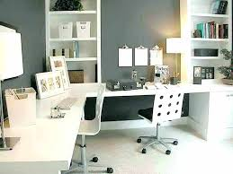 Home Office With Two Desks Home Office Desk For Two Home Office With Two Desks Two Person
