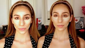 contour for oval faces makeup tutorial youtube