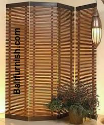Bamboo Room Divider Room Divider Indonesia