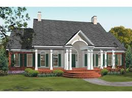 federal house plans eplans adam federal house plan sweet escape 2085 square