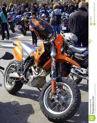 ktm motocross bikes ktm motocross bike at motor fest editorial image image 70539550