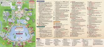 Map Of Disneyworld January 2016 Walt Disney World Park Maps Photo 6 Of 12 In Epcot