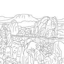 famous places in germany coloring pages coloring pages
