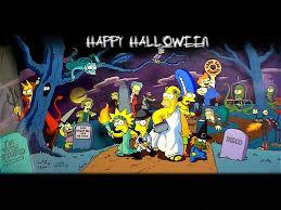 simpsons halloween wallpapers u2013 halloween wizard