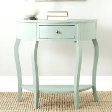 half moon table target half round console tables half circle console table console tables