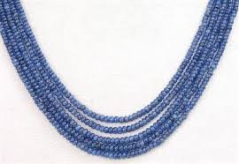sapphire bead necklace images Buy online stunnning natural indian cabochon blue sapphire beads 5 s jpg