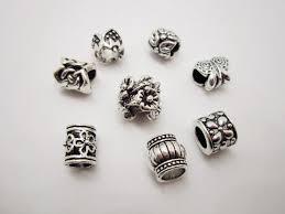 dreadlock accessories 8pcs mix silver dreadlock dread jewelry accessories