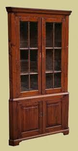 corner oak china cabinet foter