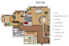 sle of floor plan houseplan sle drawing technical pinterest