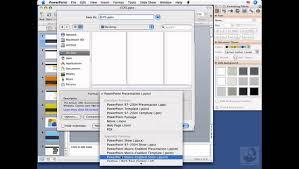 powerpoint for mac saving presentations lynda com youtube