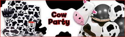 cow print balloons cow print party decorations ideas and supplies