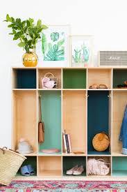 lockers diy color block storage lockers sugar u0026 cloth home decor diy
