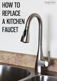how to repair a kitchen faucet superb how to change kitchen faucet washer 1 how to replace a
