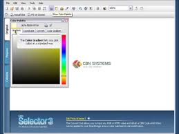 cbn paint color selector software tutorial interface youtube