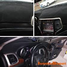 jeep grand dash mat xukey fit for 2011 2015 2016 jeep grand dashboard cover