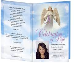 Sample Of Funeral Programs Funeral Program Borders Clip Art 36