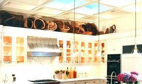 top of kitchen cabinet decor ideas kitchen cabinet decor dbassremovals com