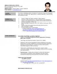 working student resume resume example singapore augustais