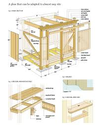 Free Wood Workbench Designs by Free Outdoor Shower Wood Plans