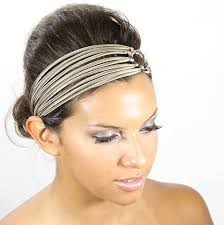 silk headband chagne headband silk headband headbands for women hair band