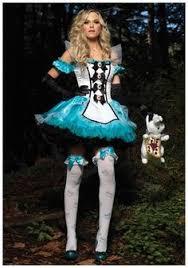 Alice Wonderland Costume Halloween Womens Lost Wonderland Rabbit Costume Wonderland Costumes