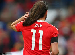 what is gareth bale hair called gareth bale shows off his lengthy locks as wales draw against