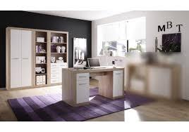 B Otisch Mit Regal Büromöbel Set San Remo Eiche Weiss Woody 32 00061 Woody Möbel