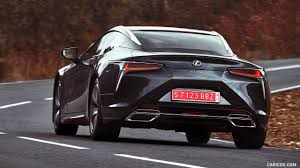 lexus lc 500 h concept 2018 lexus lc 500 color caviar rear hd wallpaper 41