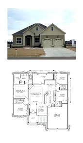 craftsman floor plan bungalow home plans a image for house plan walkout bungalow