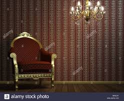 classic armchair interior scene with classic armchair and lamp stock photo royalty