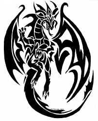 the symbolic dragon tattoos dragon tribal tattoo commision by wolfsouled on deviantart