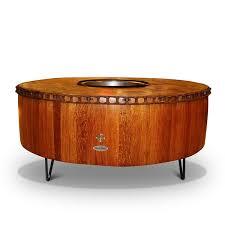 Wine Barrel Fire Pit Table by Moderna Wine Barrel Fire Pit Table