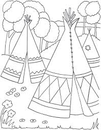 native american coloring pages for preschoolers coloring home