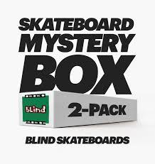 Blind Skate Logo Skateboard Mystery Box 2 Pack Blind