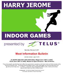 harry jerome indoor games presented by telus u2014 harry jerome