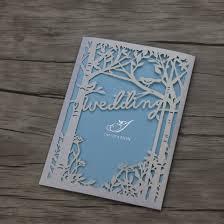 bird wedding invitations 50 laser cut tree bird wedding invitations cards