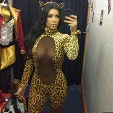 kim kardashian u0027s halloween costume star poses in see through