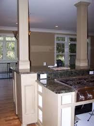 kitchen islands with columns kitchen islands with pillars kitchens with columns design ideas