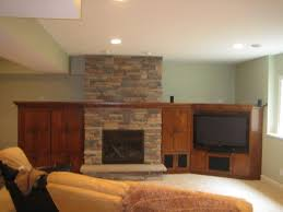 How To Finish A Fireplace - basement finishing ideas how much does a fireplace cost in