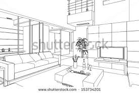 house line drawing stock images royalty free images u0026 vectors