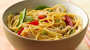 noodle salad recipes chinese chicken noodle salad recipe bettycrocker com
