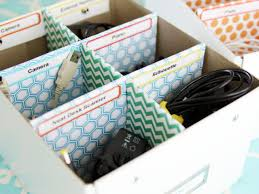 How To Make Desk Organizers by 5 Quick Tips For Home Office Organization Hgtv