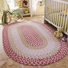 Chenille Braided Rug Amazon Com Super Area Rugs Romper Soft Braided Rug Chenille