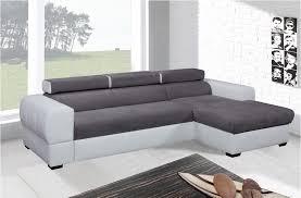 canapé d angle bi couleur canape d angle gauche convertible lisbona u canap d angle droit