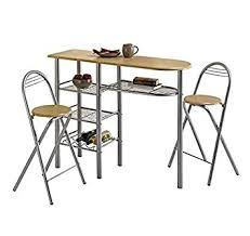 Modern Dining Room Table And  Chairs Set Breakfast Bar Tables - Dining room table for 2