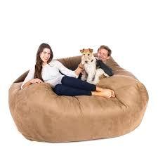 huge bean bag couch giant bean bag chair lounger cheap u2013 digitalharbor