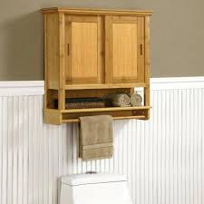 oak bathroom wall cabinets with towel bar u2013 luannoe me